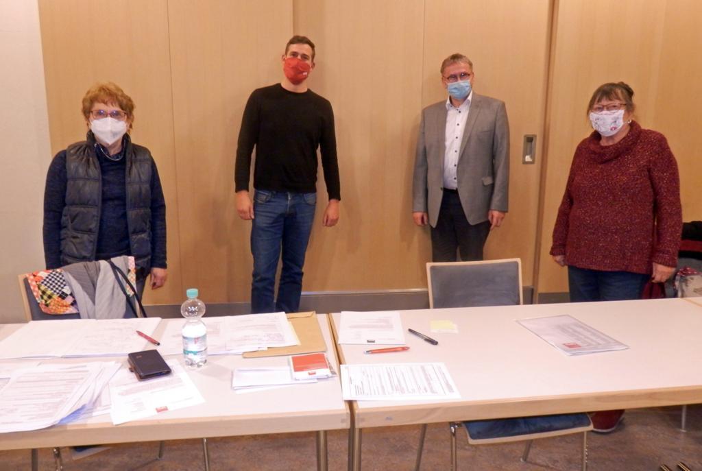 Foto: Wahlvorstand zur Listenerstellung